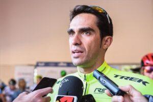 Alberto Contador: «Están saliendo corredores jóvenes»
