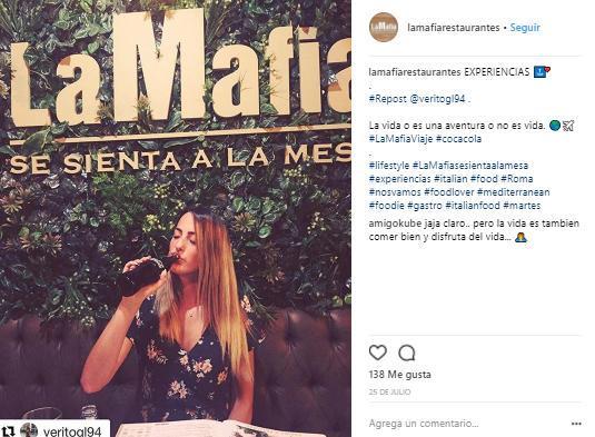 6 - La felicidad de La Mafia se sienta a la mesa, en imágenes