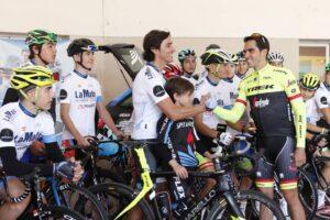 Una mañana con Alberto Contador