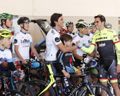 DKgqpMOXcAAJzC6 400x320 - Una mañana con Alberto Contador