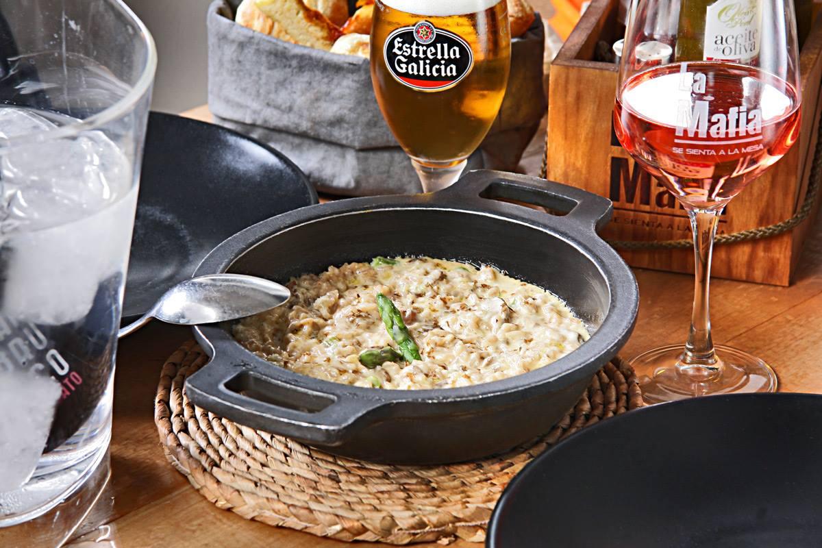 Risotto Di Formagio - El arroz, clave en la dieta mediterránea