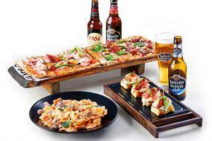 Segunda edición de los platos de edición limitada de 'La Mafia se sienta a la mesa'