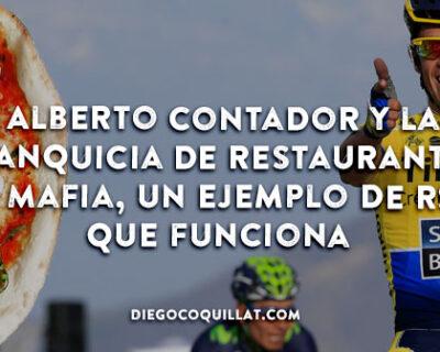 Alberto Contador y La Mafia ejemplo de RSC para restaurantes 400x320 - Alberto Contador y la franquicia de restaurantes La Mafia, un ejemplo de RSC que funciona