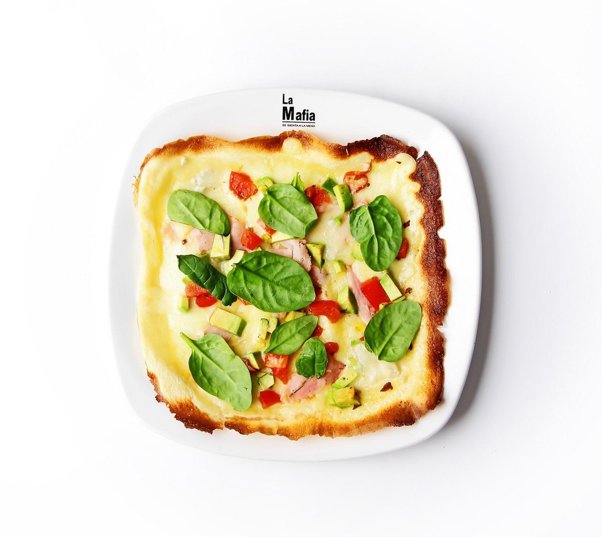 Crepe aguacate La Mafia se sienta a la mesa - Gorgonzola, una muestra más de la riqueza quesera de Italia