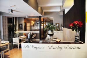'La Mafia se sienta a la mesa': decoración y gastronomía