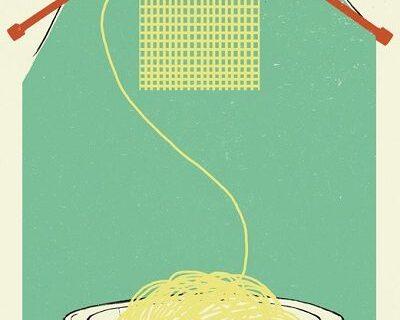 Arte con spaghettis 1 400x320 - Arte con spaghetti
