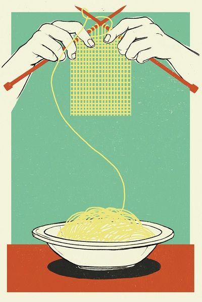 Arte con spaghettis 1 - Arte con spaghetti