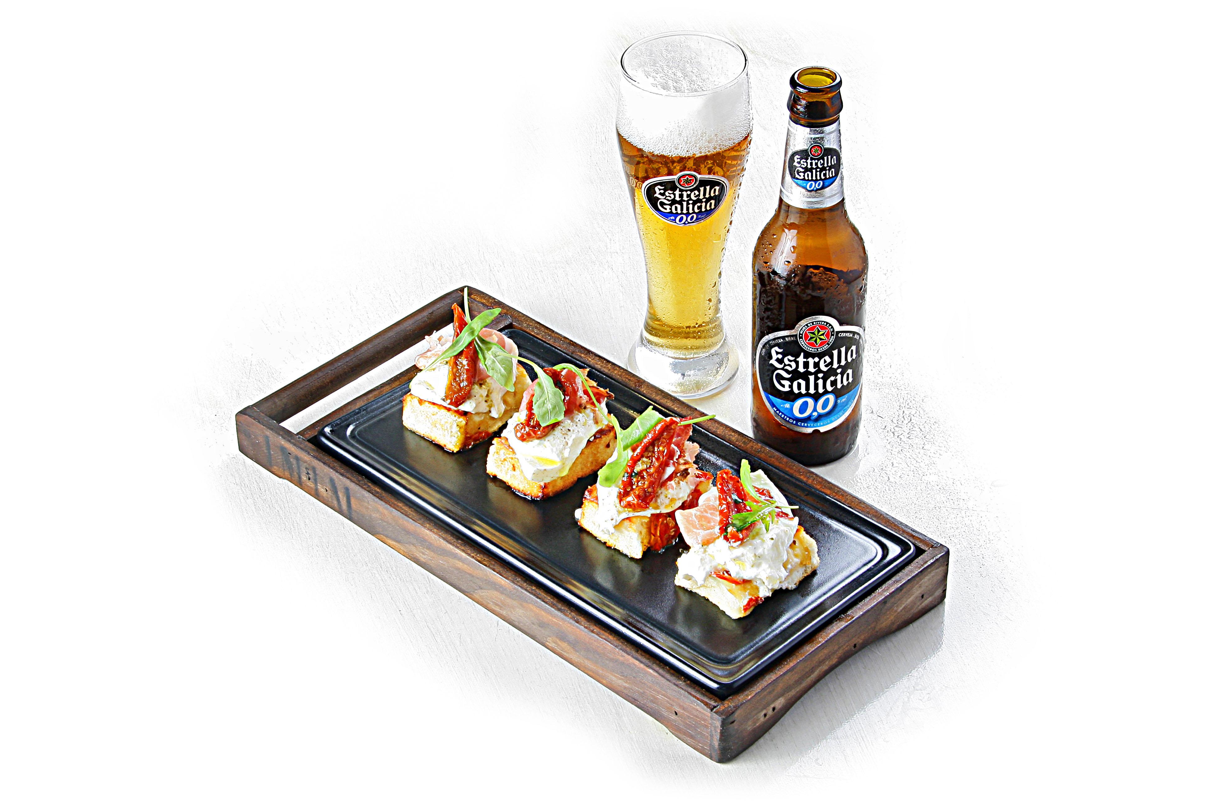 """Bruschetta y cerveza - La bruschetta, de """"plato pobre"""" a codiciado aperitivo"""