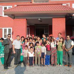 Lotería de Navidad para ayudar a los niños del orfanato My Home (Nepal)
