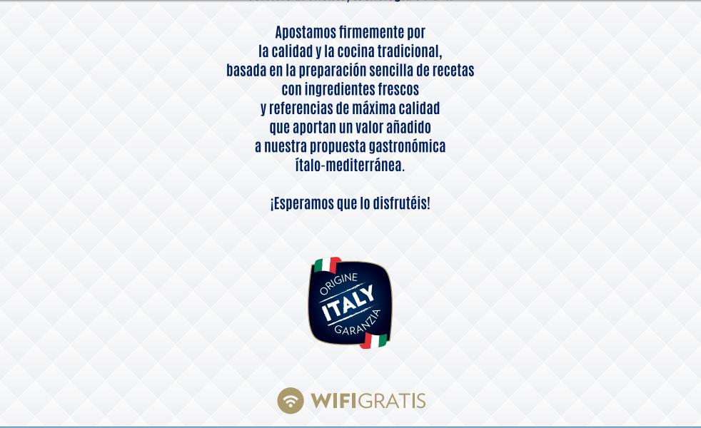 wifigratis - Wifi gratis en todos nuestros restaurantes