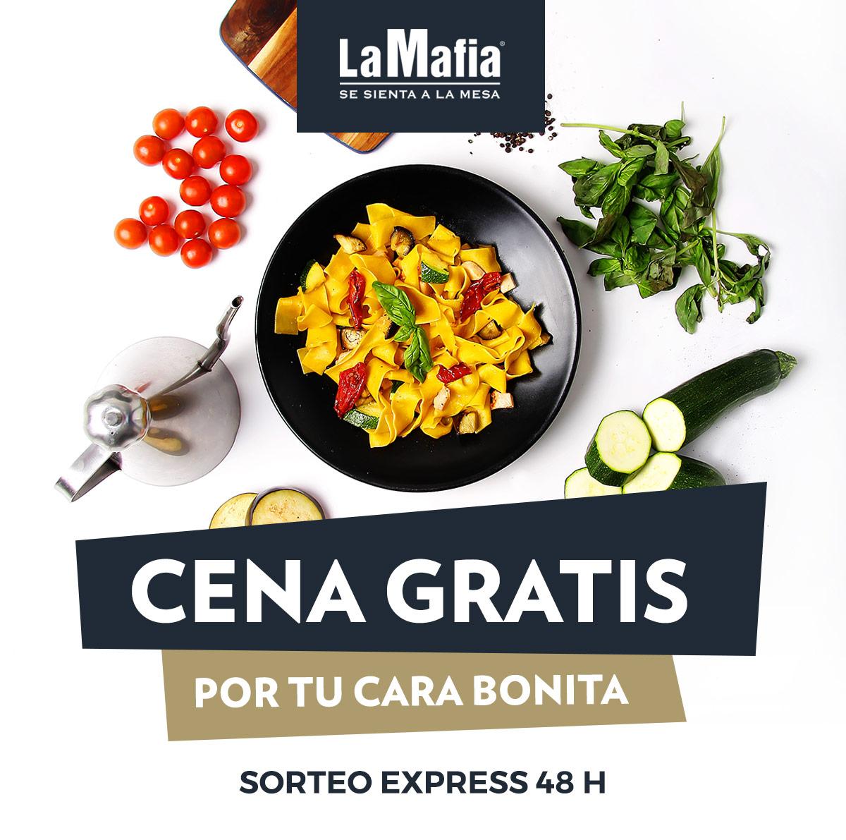 SorteoExpress - ¿Apetece una cena gratis en 'La Mafia se sienta a la mesa'?