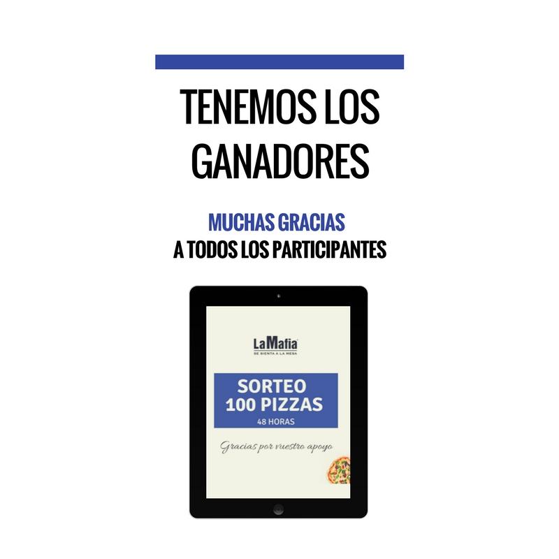 hoy a las 21 00 1 - Ganadores del sorteo de las 100 pizzas
