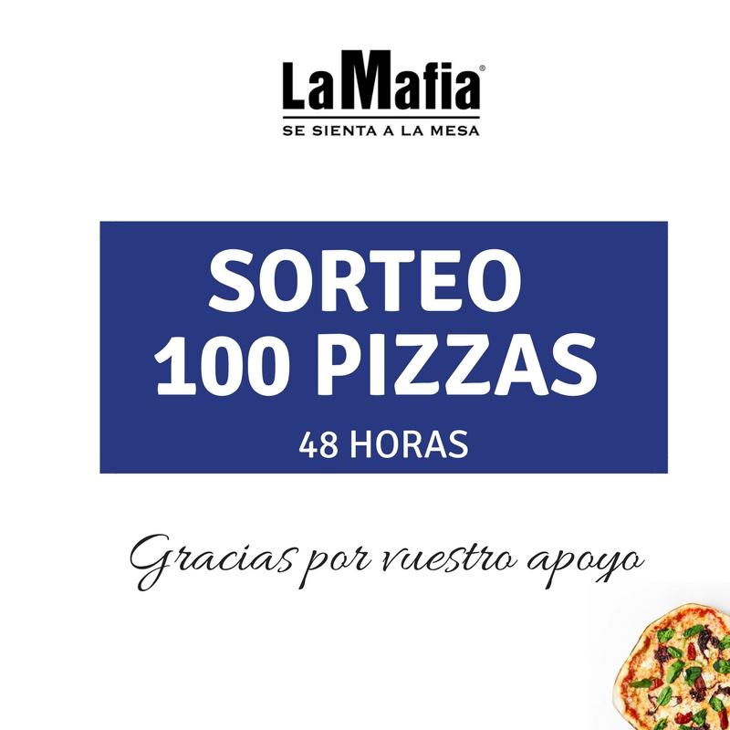 sorteo 100 pizzas 1 - Muchas gracias por vuestro cariño: ¡os lo agradecemos con 100 PIZZAS!