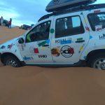 La Mafia se sienta a la mesa, patrocinador en el Rally Solidario Marruecos