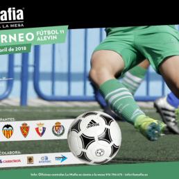 'La Mafia se sienta a la mesa', organizador y patrocinador oficial del 1º Torneo Alevín Fútbol 11