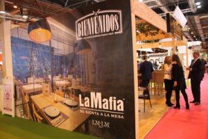 Éxito de la red de franquicias ´La Mafia se sienta a la mesa´ en Expofranquicia 2018