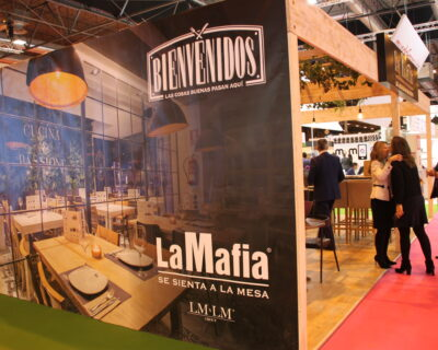 Expofranquicas 2018 400x320 - Éxito de la red de franquicias ´La Mafia se sienta a la mesa´ en Expofranquicia 2018
