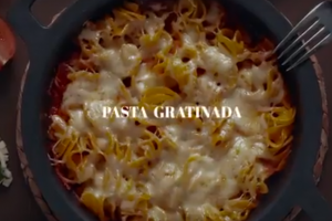 pasta gratinada bueno 300x200 - Pasta gratinada