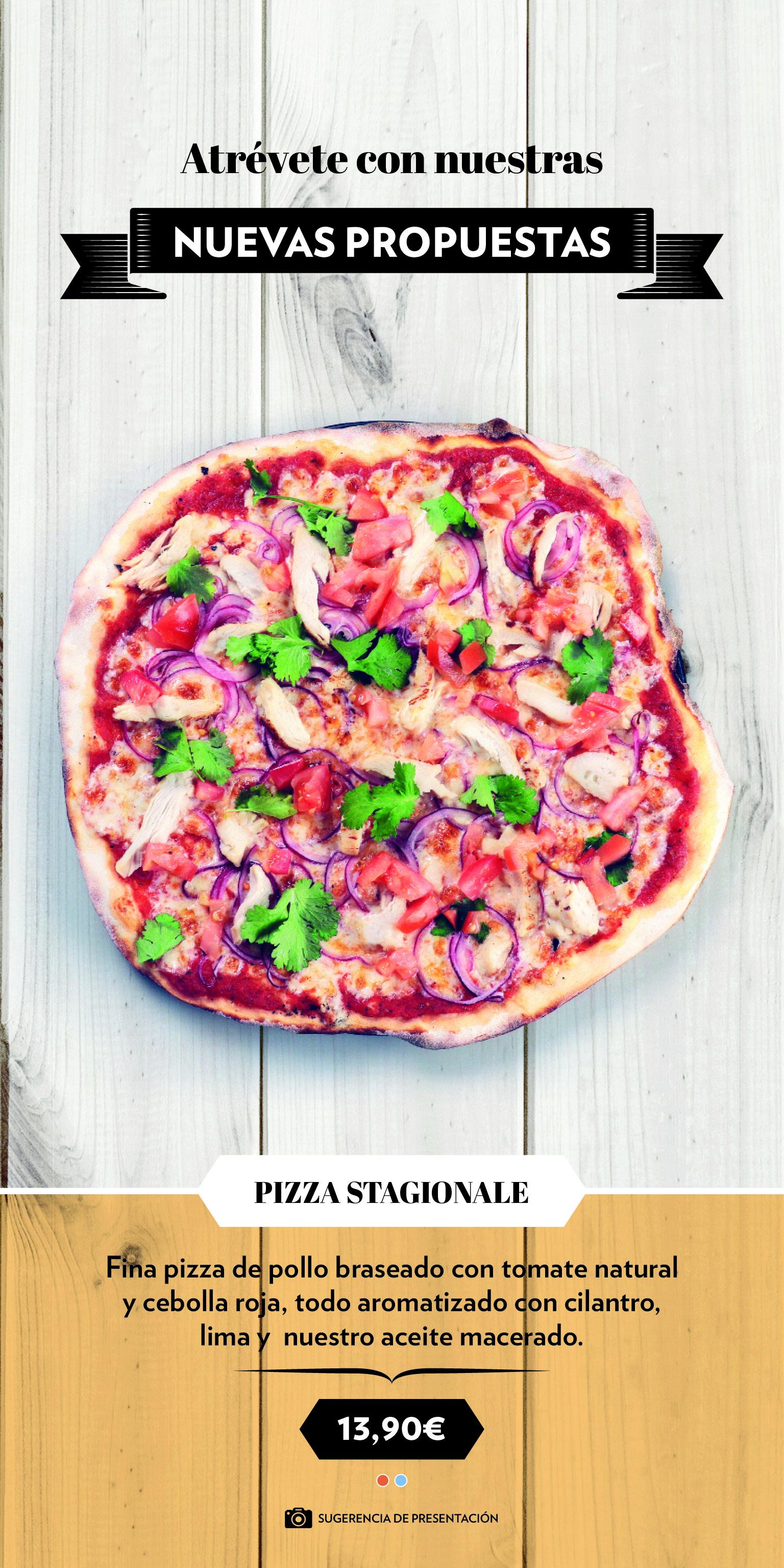 Edición Limitada Pizza 1 - Pizza Stagionale, de edición limitada
