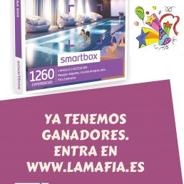 ¡Ya tenemos los ganadores de las cajas smartbox spa y relax para dos personas!