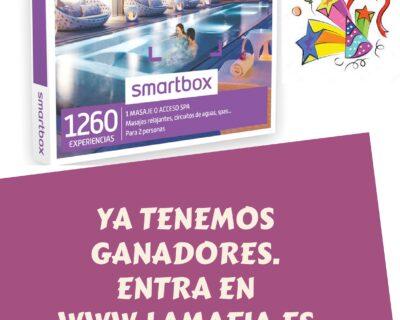 Ganadores 001 400x320 - ¡Ya tenemos los ganadores de las cajas smartbox spa y relax para dos personas!
