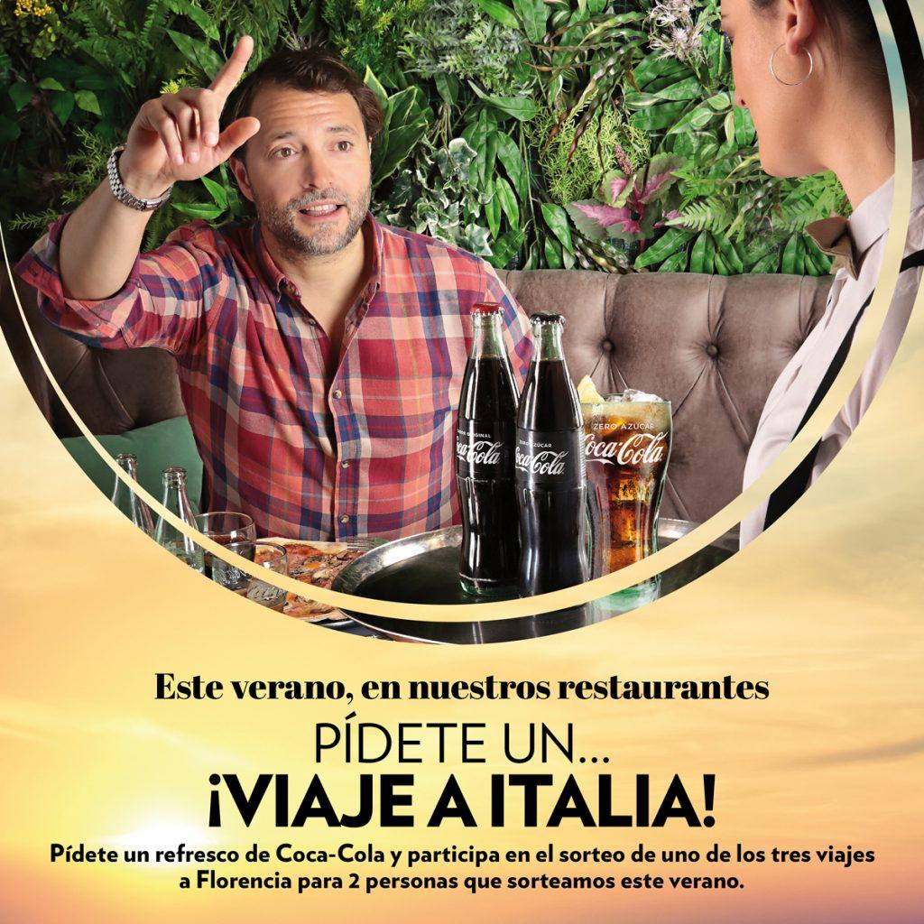 LA MAFIA COCACOLA POST 1200X1200 02 1024x1024 - La Mafia se sienta a la mesa y Coca Cola te llevan a Florencia