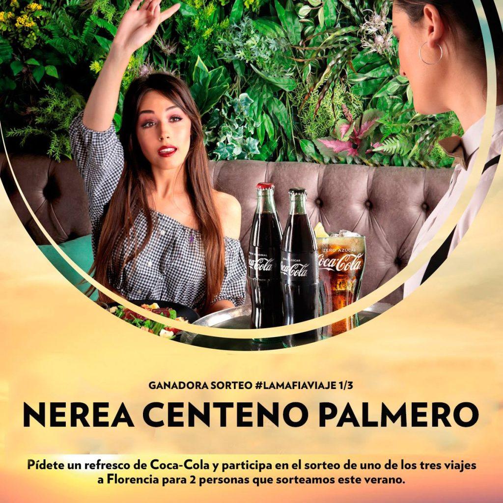 36739847 1848236158532916 5064643311097085952 o 1024x1024 - Ya sabemos la ganadora del primer viaje a  Florencia La Mafia se sienta a la mesa y Coca Cola