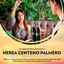 Ya sabemos la ganadora del primer viaje a  Florencia La Mafia se sienta a la mesa y Coca Cola