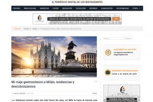 Mi viaje gastronómico a Milán, tendencias y descubrimientos