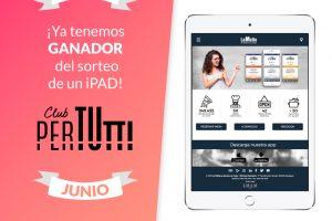 Sorteo PerTutti iPad Junio 300x200 - Ganador de un iPad en el sorteo entre los clientes PerTUtti Oro
