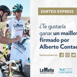 ¡Tenemos ganador/a del maillot firmado por Alberto Contador!