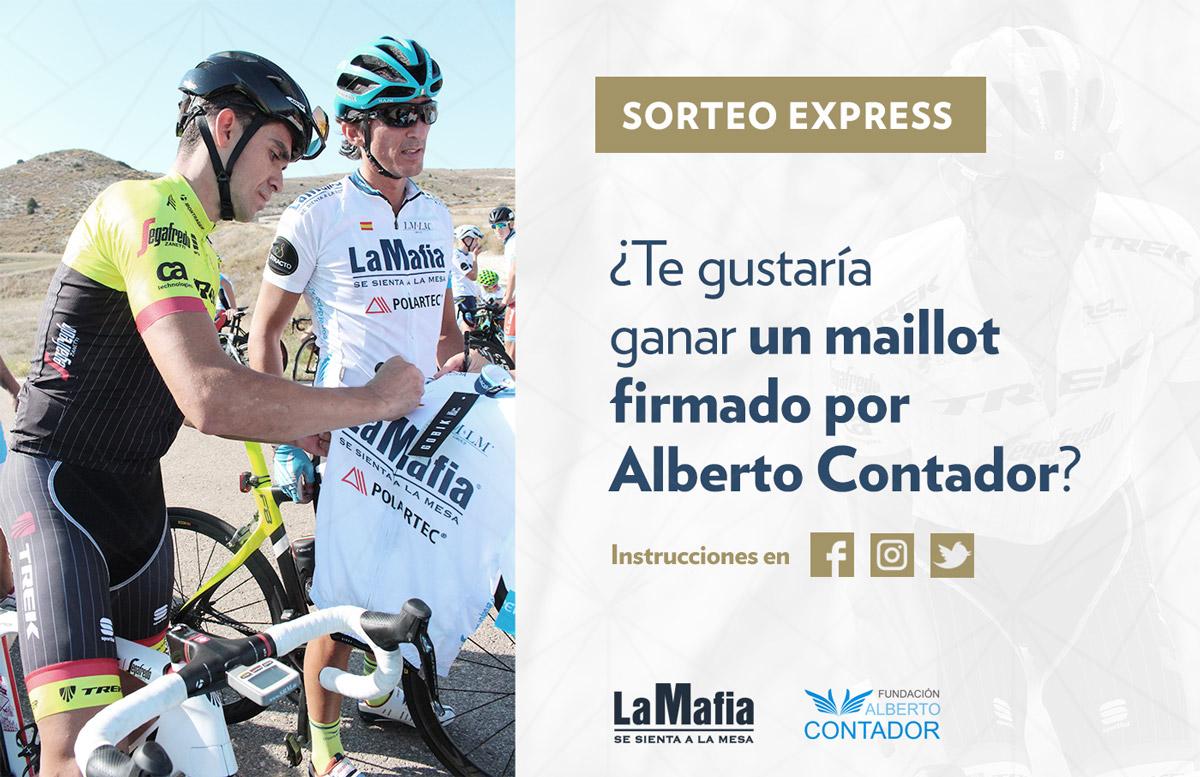 contadormaillot - ¡Tenemos ganador/a del maillot firmado por Alberto Contador!