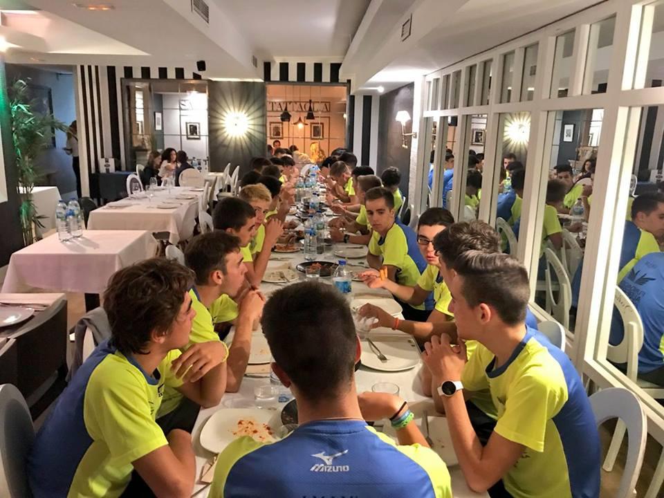 'La Mafia se sienta a la mesa' lleva a Zaragoza el 'VI Edición del Campus Fundación Alberto Contador' 2 - 'La Mafia se sienta a la mesa' lleva a Zaragoza la 'VI Edición del Campus Fundación Alberto Contador'