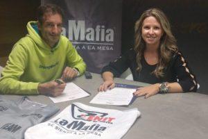 'La Mafia se sienta a la mesa' y el club Zenit aúnan esfuerzos por el deporte aragonés