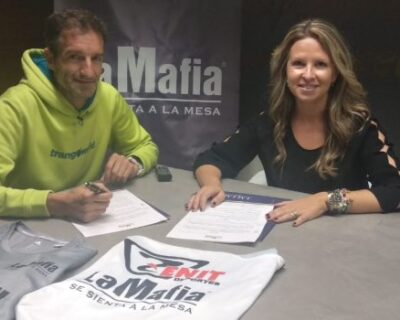LaMafia Zenit 750x350 400x320 - 'La Mafia se sienta a la mesa' y el club Zenit aúnan esfuerzos por el deporte aragonés