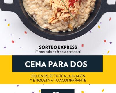 SorteoOctubre TW 400x320 - Ganadores octubre: comida o cena por la cara en 'La Mafia se sienta a la mesa'