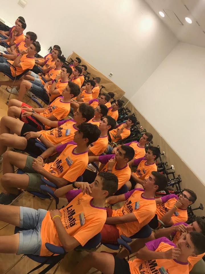 campus 1 - La VI edición del Campus Fundación Alberto Contador repite éxito