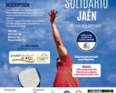 padel solidario jaen 400x320 - 'La Mafia se sienta a la Mesa' Jaén, repite en su Torneo de Pádel Solidario