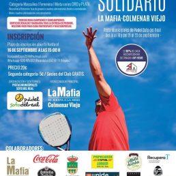 'La Mafia se sienta la mesa' de Colmenar Viejo, fiel a su Torneo Solidario de Pádel