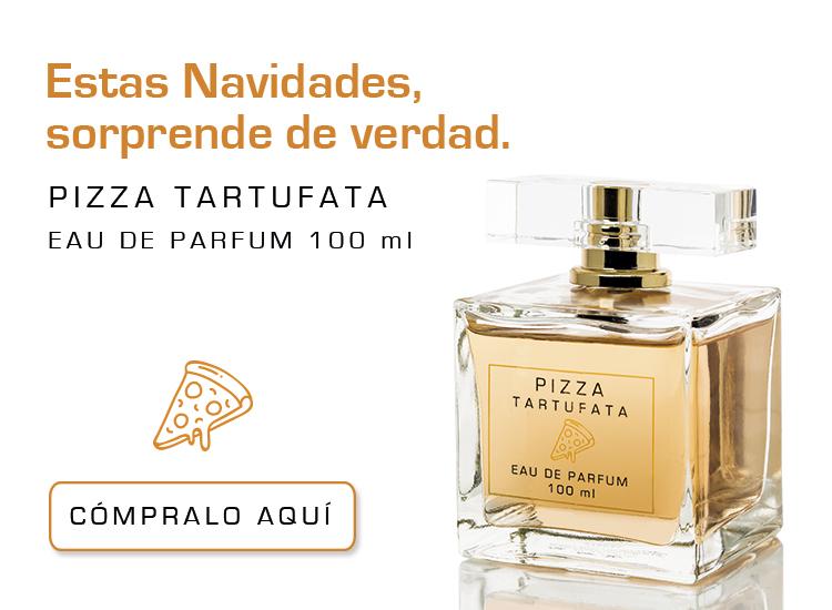 Slide web movil - ¡La mejor broma huele a Pizza Tartufata!
