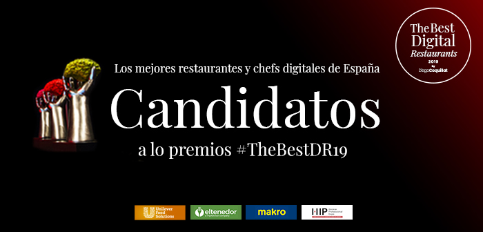 Conoce los candidatos a The Best Digital Restaurants 2019 - ¿Te vienes al Hospitality Innovation Planet con 'La Mafia se sienta a la mesa'?