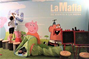El restaurante 'La Mafia' conquista a los pequeños de la casa con su menú Piccolino