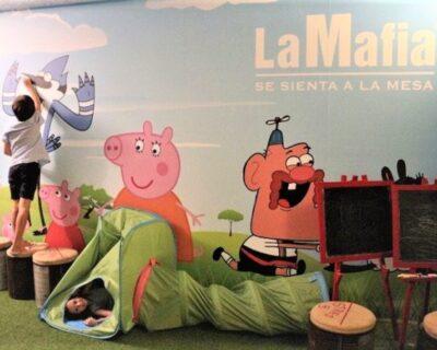 Restaurante mafia barcelona niños 696x464 400x320 - El restaurante 'La Mafia' conquista a los pequeños de la casa con su menú Piccolino