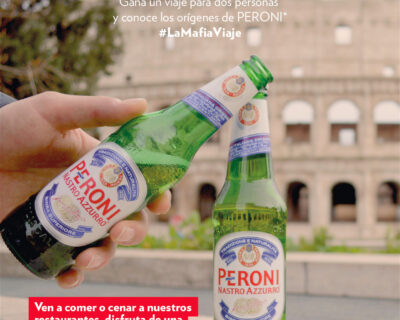 Sorteo Peroni y La Mafia se sienta a la mesa