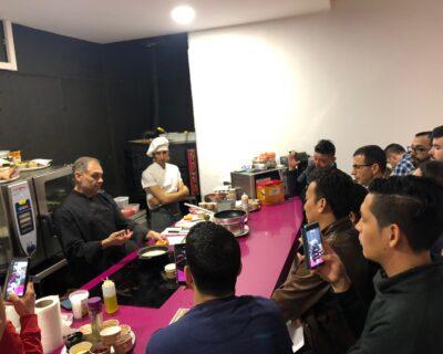 En una de las formaciones de nueva carta en La Mafia se sienta a la mesa