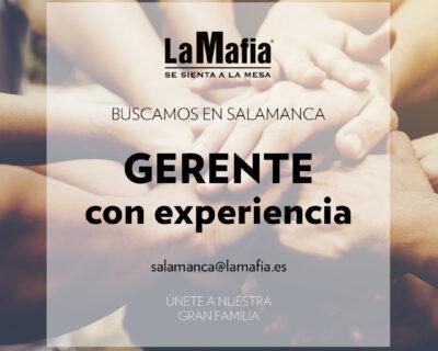 """BUSCAMOS Equipo Salamanca Gerente 400x320 - SALAMANCA - Responsable de sala en """"La mafia se sienta a la mesa"""""""