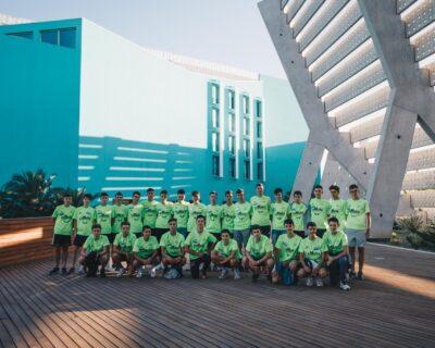participantes 400x320 - Zaragoza acoge un año más el 'Campus Selección Fundación Alberto Contador'