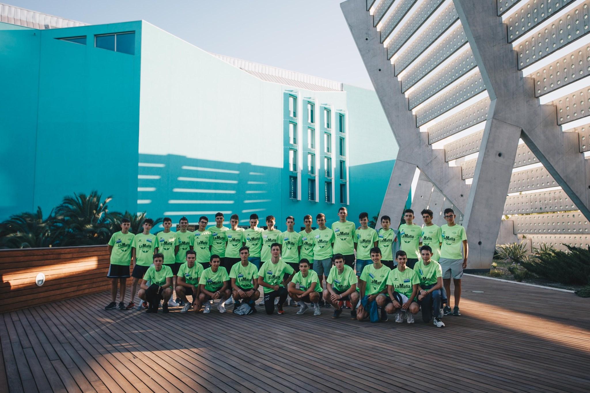 participantes - Zaragoza acoge un año más el 'Campus Selección Fundación Alberto Contador'