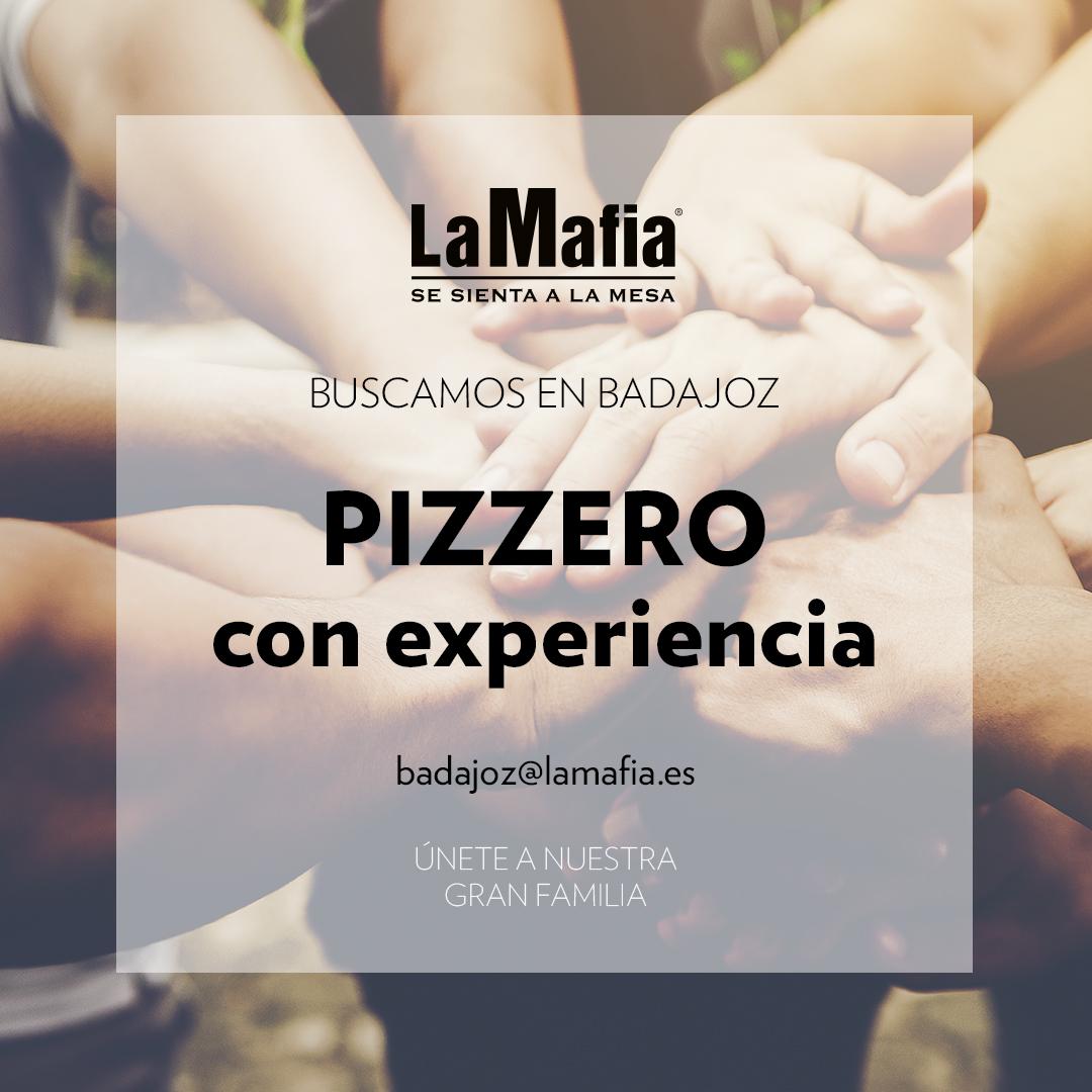 BUSCAMOS Equipo Badajoz Pizzero - BADAJOZ — Buscamos pizzero en 'La Mafia se sienta a la mesa'
