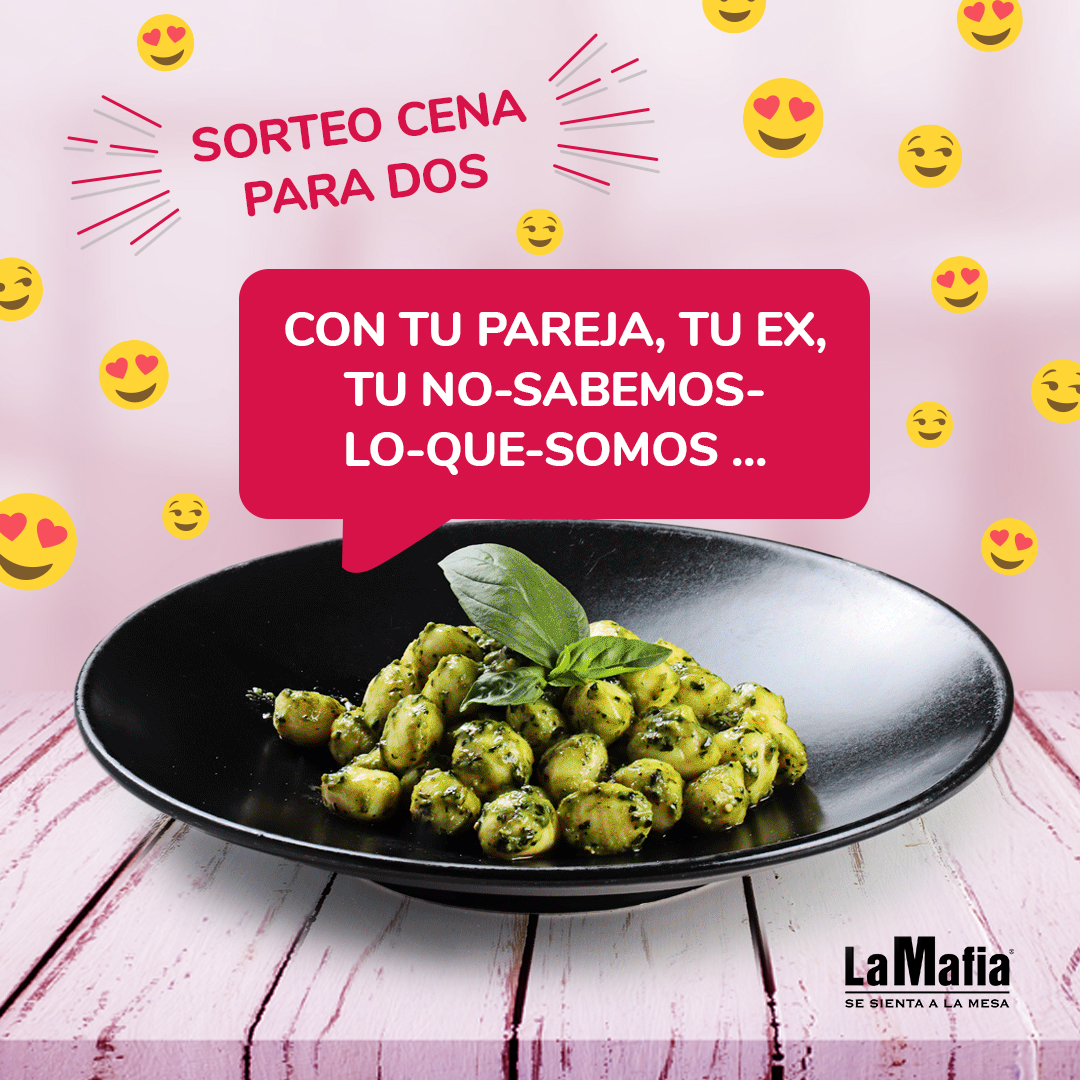 RRSS San Valentin 2020 Sorteo - [GANADORES] Love is in the air… ¡y una cena gratis también!